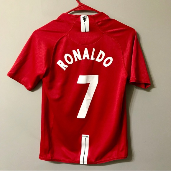 finest selection 9bf9d 8b4ce Vintage Cristiano Ronaldo Manchester United Jersey